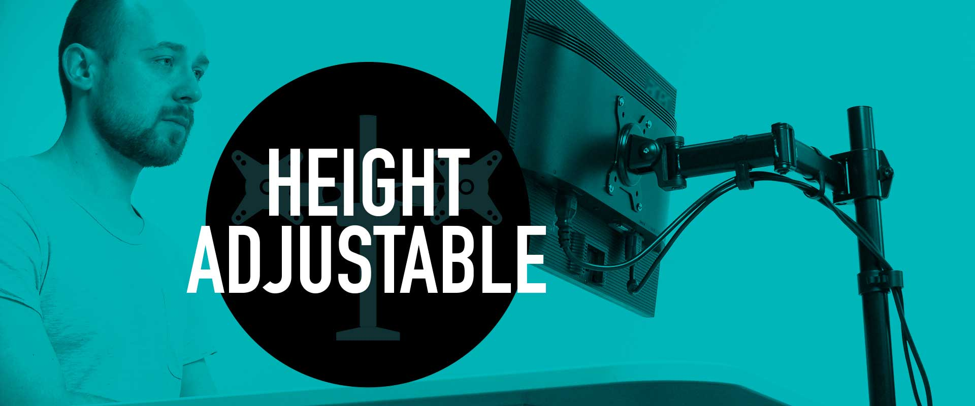 Adjustable in Height